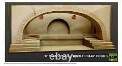 118 Diorama Jabba Throne Room Set for 3.75 Star Wars Vintage Collection Legacy