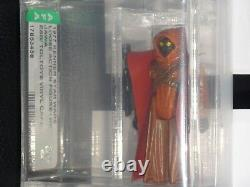 1977 Vintage ESB TOLTOYS VINYL CAPE JAWA AFA60 Star Wars AFA CIB Authenticated 1