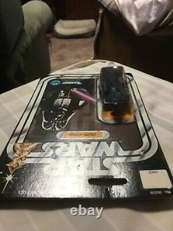 1977 Vintage Kenner Star Wars 12 back Darth Vader Action Figure MOC