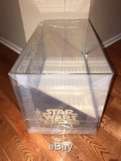 1978 Vintage Star Wars Store Display 12 Back Bin And Header Afa 80