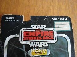 1980 Kenner brown snake Yoda 41 back vintage Star Wars MOC empire strikes back