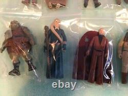 1980s Star Wars ESB ROTJ Huge Lot 40 Guys! Vintage original Kenner figures