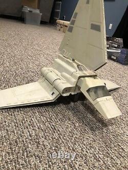 1984 Vintage Star Wars Imperial Shuttle Mostly Complete Kenner Original