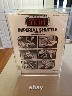 1984 Vintage Star Wars Imperial Shuttle Sealed AFA 85 ROTJ MISB Darth 12 Luke