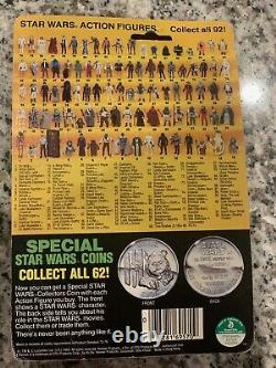 1984 Vintage Star Wars POTF R2D2 Pop-Up Lightsaber Action Figure On Card