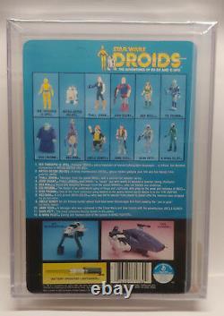 1985 Kenner Vintage Star Wars Droids Tv Series C-3po 3 3/4 Action Figure Afa 90