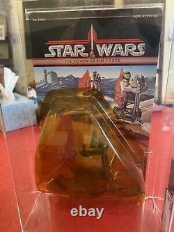 1985 Kenner Vintage Star Wars POTF Body Rig Sand Skimmer AFA 85 90