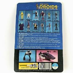 1985 Star Wars Droids TIG FROMM Kenner, Vintage, Carded, Unpunched VERY NICE