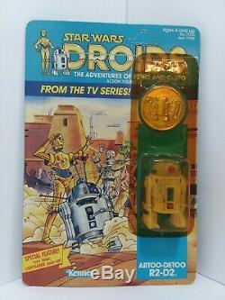 1985 Vintage Star Wars Droids R2-d2 Artoo-detoo Factory Sealed