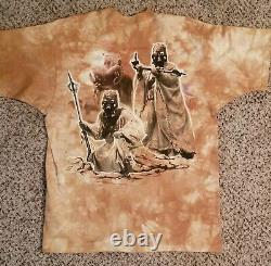 1997 Vintage STAR Wars Liquid Blue Shirt