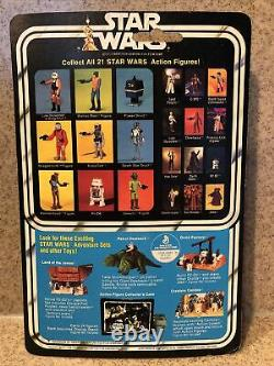 21 Back Boba Fett 1979 Vintage Kenner Star Wars Cardback with Bubble