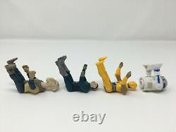 4 Repro Figures Yak Face, Blue Snaggletooth, Droids C-3PO & R2-D2 vintage-style