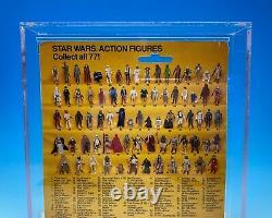 AFA 80 vintage STAR WARS kenner BOBA FETT moc ROTJ 77 BACK taiwan ARCHIVAL 1983