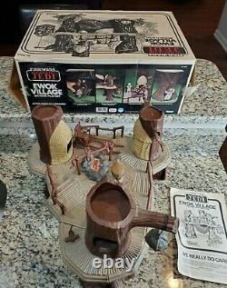 Ewok Village Playset 1983 STAR WARS Vintage Original 100% Complete w NICE Box