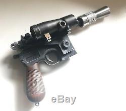 Han Solo Blaster ESB REAL VINTAGE MGC MAUSER & REAL SCOPE! Star Wars