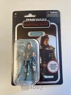 Hasbro Mandalorian Star Wars Vintage Collection 3.75 Cara Dune Carbonized
