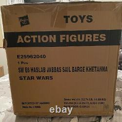 Hasbro Star Wars The Vintage Collection Jabba's Sail Barge the Khetanna NEW