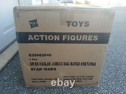 Haslab Star Wars Vintage Collection Jabba's Sail Barge Khetanna Yak Face sealed