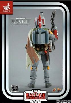 Hot Toys MMS571 Boba Fett (Vintage Color Version) IN HAND USA SELLER sideshow
