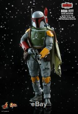 Hot Toys MMS571 Star Wars The Empire Strikes Back BOBA FETT VINTAGE COLOR VER
