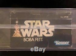 KENNER 1979 STAR WARS 12 INCH SERIES BOBA FETT VINTAGE Factory Sealed AFA 60