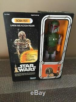 KENNER 1979 STAR WARS 12 INCH SERIES BOBA FETT VINTAGE Factory Sealed LOOK WOW