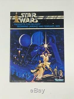 Kenner 1978 Toy Fair Dealer Catalog Star Wars 12 Back Rare Vintage Original NM