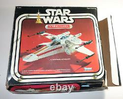 Kenner Star Wars X-Wing Fighter with Original Box PLUS Vintage Pilot Figure