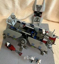 LEGO 4482 Star Wars AT-TE 100% Complete MINIFIGURES AND INSTRUCTIONS