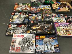 Lego Sets Minifigures 3600 Star Wars Minecraft Marvel Dc Avengers 3700 LB Lot