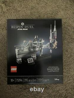 Lego Star Wars 75294 Bespin Duel New, Sealed, Retired