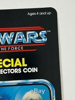 Luke Skywalker Jedi Knight 1984 Kenner POTF Proof Card Vintage Star Wars 92 Back