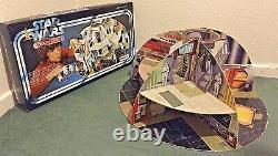 ORIGINAL VINTAGE USED STAR WARS 1978 PALLITOY DEATH STAR Read Description