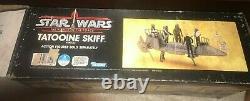 RARE! Star Wars Vintage Tatooine Desert Skiff Kenner Box Only! 1984 ROTJ POTF