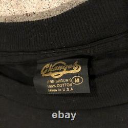 RARE Vintage Changes 1996 Star Wars Emperor Palpatine Lightning Mens T Shirt M