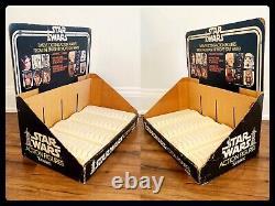 Rare 1977 Vintage Star Wars Store Display C-3po R2-d2 Chewbacca Stormtrooper