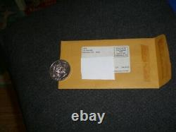 Rare 1984 Vintage Kenner Star Wars Mail-Away POTF PAPLOO EWOK Silver Coin/mailer