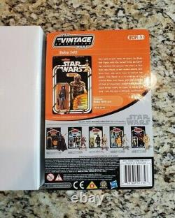 Rocket Firing Boba Fett VCP03 2010 STAR WARS The Vintage Collection w Box MOC