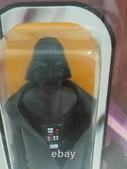 STAR WARS Darth Vader 12 BACK A AFA Graded 80 Unpunched Card Vintage MOC