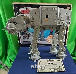 STAR WARS Vintage ATAT Imperial Walker Original AT-AT with Box Instructions 1981