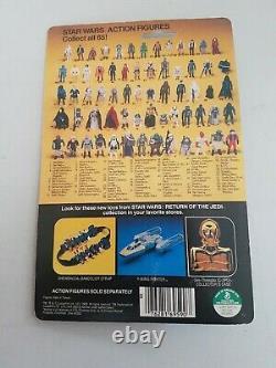 STAR WARS Vintage Kenner EMPERORS ROYAL GUARD carded Sealed MOC ROTJ 65 Back