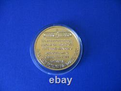 STAR WARS vintage BOBA FETT POTF / DROIDS COIN 1985 gold RARE MINT