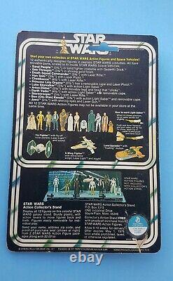 Star Wars 12 Back Luke Skywalker Farmboy MOC carded Vintage Kenner