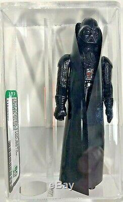 Star Wars 1977 Vintage Kenner Darth Vader loose figure HK AFA graded 80 NM