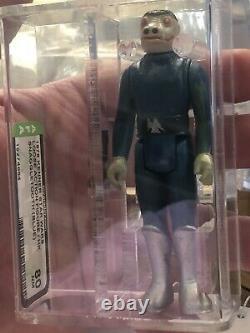 Star Wars 1978 Vintage Kenner Blue Snaggletooth (HK) Loose Action Figure AFA 80