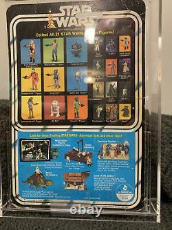 Star Wars 21 Back Greedo Carded Vintage MOC