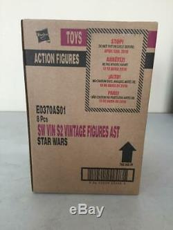Star Wars 3.75 Vintage Collection Sealed Case of 8 Figures E0370AS04