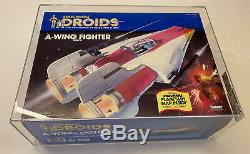 Star Wars Droids 1985 Vintage A Wing Fighter AFA 85Q nm