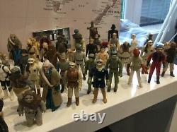 Star Wars Large Collection Of Vintage Star Wars Figures X 65