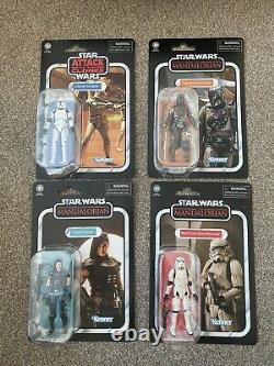Star Wars The Vintage Collection Action Figure Wave 25 Set of 4 INC CARA DUNE
